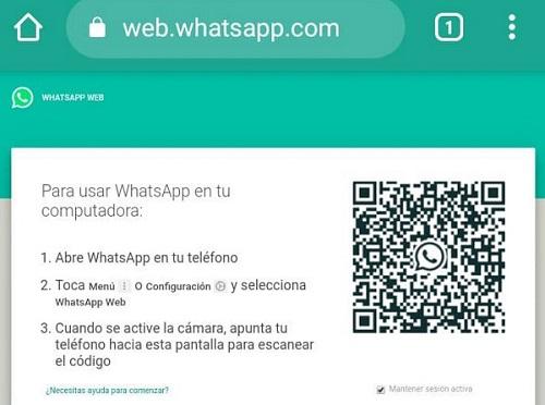 Cómo hackear WhatsApp usando el acceso a WhatsApp Web como método tradicional en el Smartphone