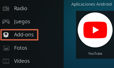 Como instalar add-ons para aprovechar Kodi al maximo paso 1