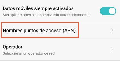 Cómo obtener Internet gratis en tu teléfono creando un nuevo APN paso 4