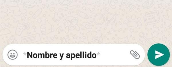 Cómo poner negritas en WhatsApp