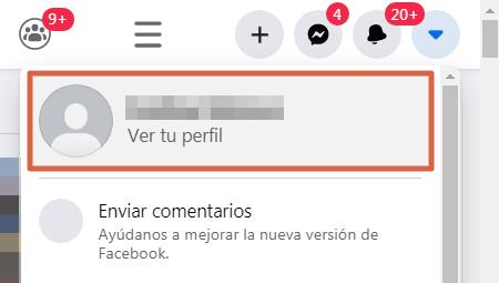 Cómo saber quién visita o revisa mi perfil de Facebook paso 1