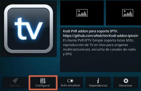 Cómo ver TV en Android usando Kodi paso 9