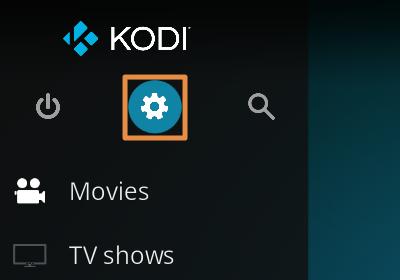Configurar Kodi en español paso 1
