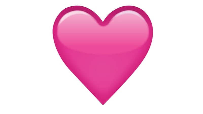 Corazón rosa en WhatsApp significado de este emoji en los chats