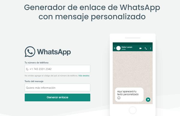 Crear un link personalizado de WhatsApp usando Vilma Núñez