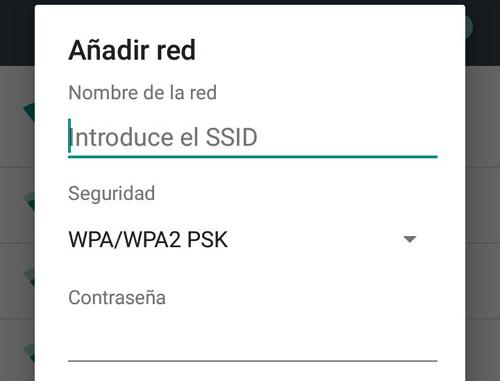 El celular no detecta la red WiFi en Android