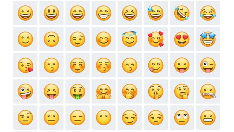 Emojis de sonrisas significados, diferencias y cuándo usarlos
