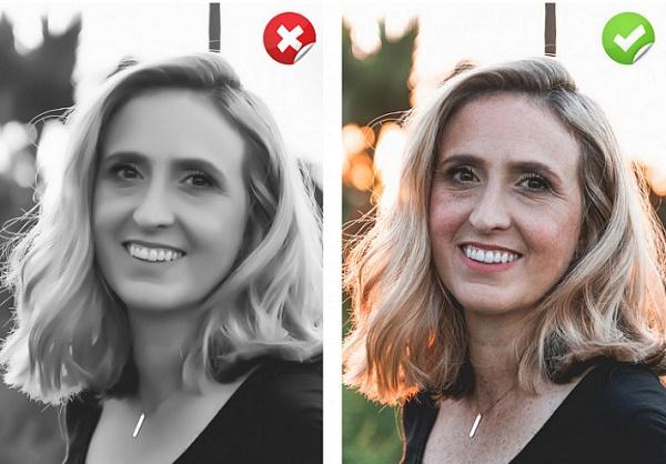 Evita el exceso de filtros y ediciones para conseguir una buena foto de perfil