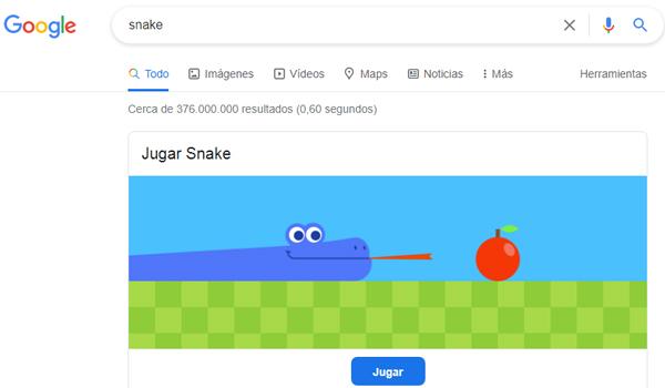 Jugar a la serpiente