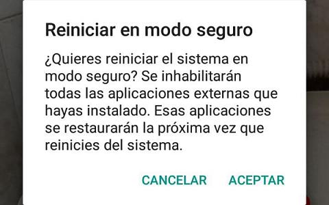 Qué es el modo seguro en Android