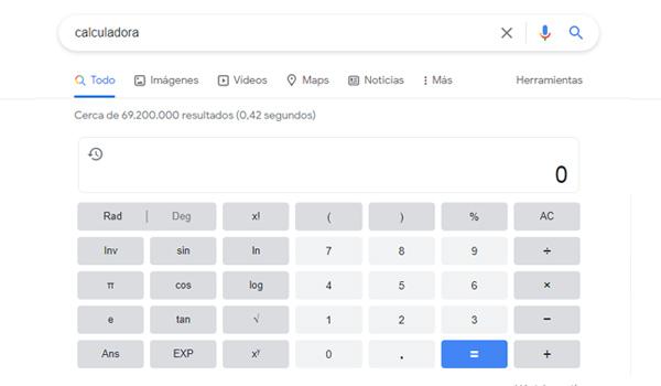 Usar la calculadora