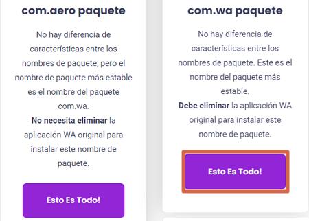WhatsApp Aero cómo descargar e instalar la última versión paso 3