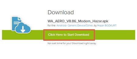 WhatsApp Aero cómo descargar e instalar la última versión paso 6