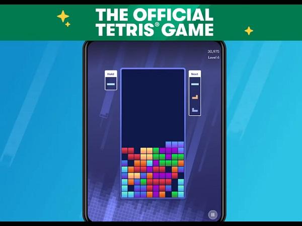 Características de Tetris para un solo jugador en dispositivos móviles