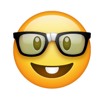 Carita de nerd