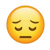 Carita de profunda tristeza