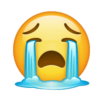 Carita llorando