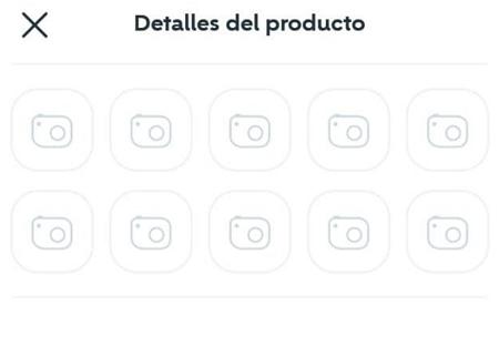 Cómo publicar un producto en Wallapop desde la app para dispositivos móviles paso 4