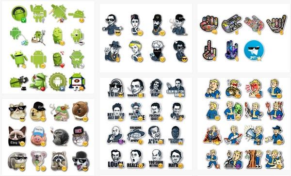 Sitios web para descargar Stickers para Telegram