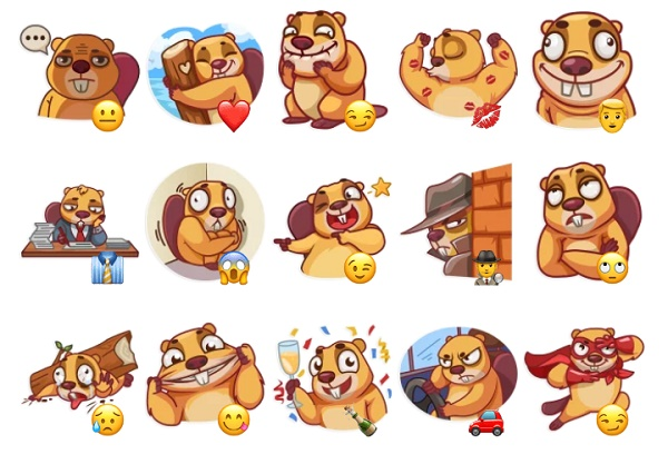 Stickers animados para Telegram