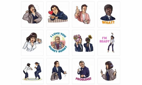 Stickers de cine para Telegram
