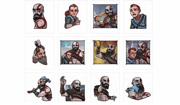 Stickers de videojuegos para Telegram