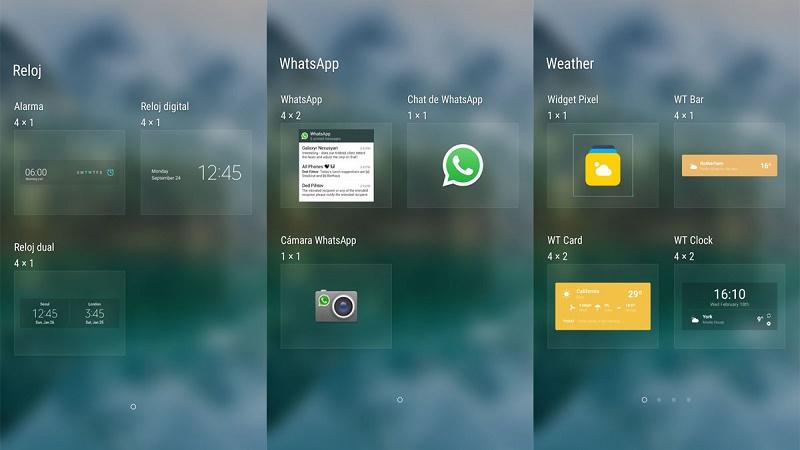 Widgets cómo añadir atajos y accesos directos a la pantalla de tu smartphone